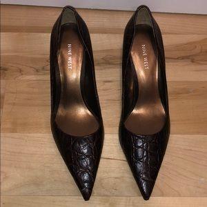 nine west low heels.